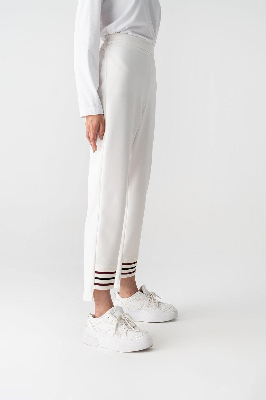 Ribbed Jarsey Trousers
