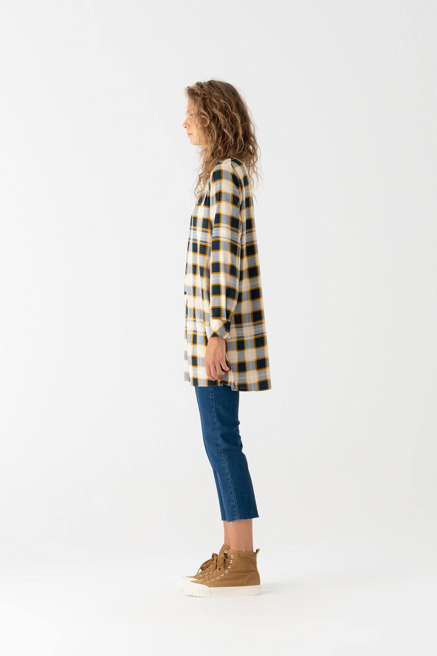Viscon Plaid Shirt