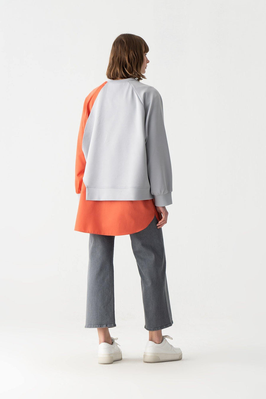 Asymmetric Neoprene Tunic