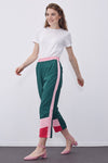 Banded Striped 3 Color Trousers