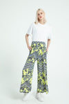 Patterned Knitted Trousers