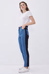 Knitted Piece Jeans Trousers