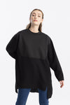 Jaopone Sleeve Scuba Garnished Tunic