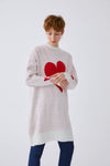 Hearted Knitwear Tunic