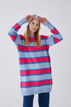 3 Color Striped Knitwear