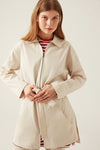 Canvas Belted Jacket