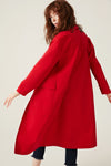 Canvas Maxi Coat