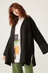 Oversize Coat With Vents