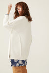 Stitch Detail Oversize Tunic