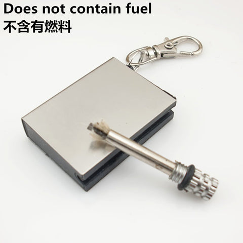 10000 Hair Emergency Fire Starter Flint Match Lighter Metal Outdoor Camping Hiking Instant Survival Tool Safety Durable