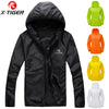 Image of X-TIGER Windproof Reflective Cycling Jersey MTB Bike Bicycle Windcoat Super Light Sunscreen Hiking Jacket Cycling Sports Clothes