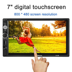 "2 Din Car Audio 7"" Universal HD Touch Screen BT Car autoradio MP5 Player Multimedia Radio Entertainment USB/TF FM Aux Input"