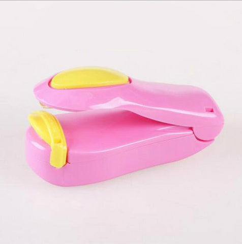 1 Piece Portable Household Mini Heat Sealing Machine Ceramic Impulse Sealer Seal Packing Capper Plastic Bag Sealer