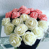 Image of 11 Colors 10 Heads 8CM Artificial Rose Flowers  Wedding Bride Bouquet PE Foam  DIY Home Decor Rose Flowers VB364 P12  0.5