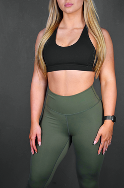 NEXT GEN SPORTS BRA - BLACK