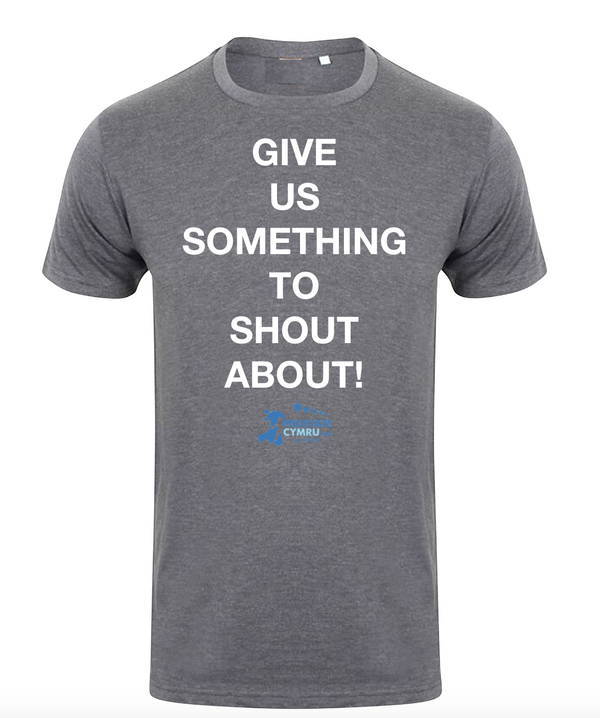 "PC ALL STARS ""GIVE US SOMETHING TO SHOUT ABOUT"" T Shirt"
