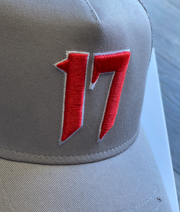 ONE.SEVEN17 - TRUCKER CAP - WOLF GREY