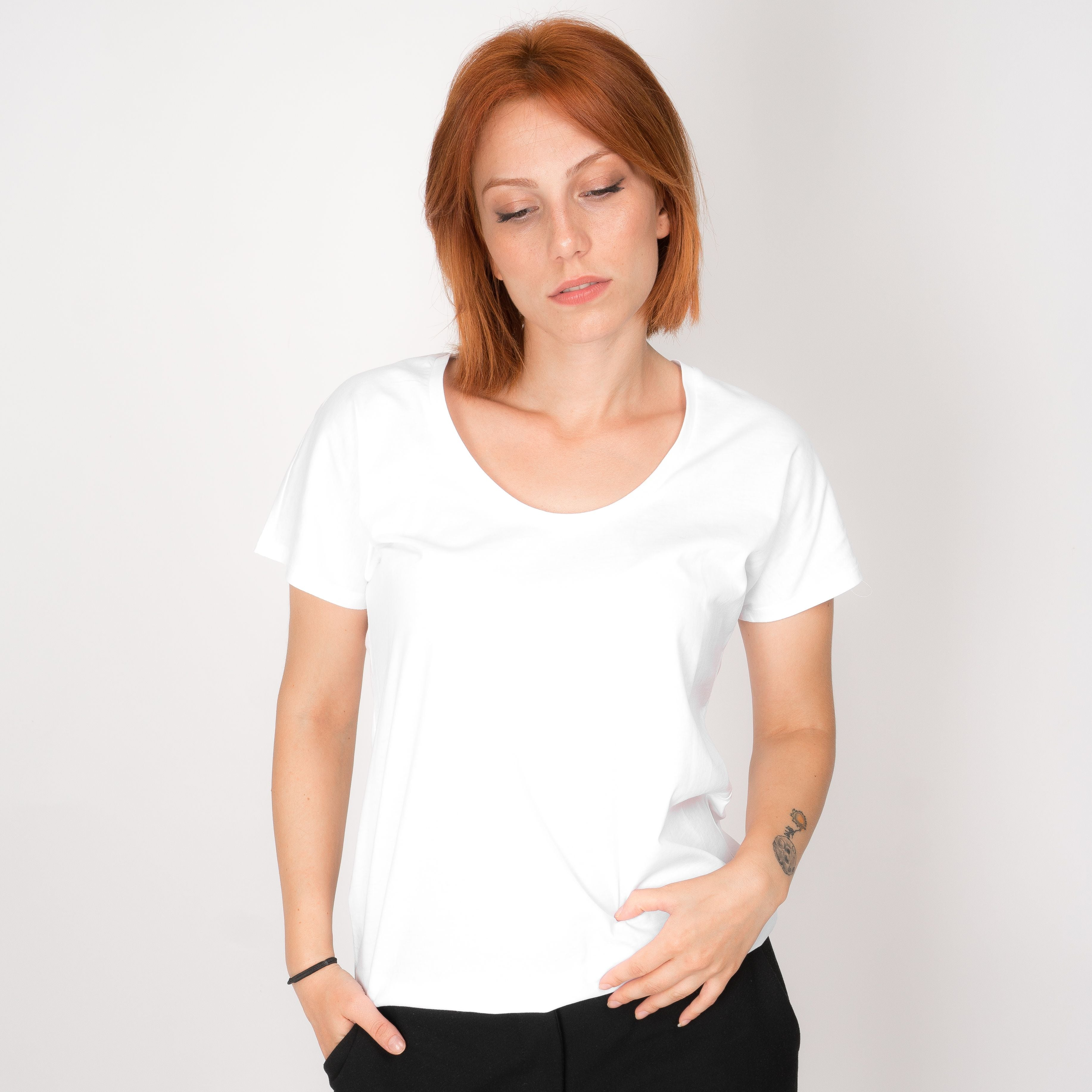 Casual Neck T-Shirt