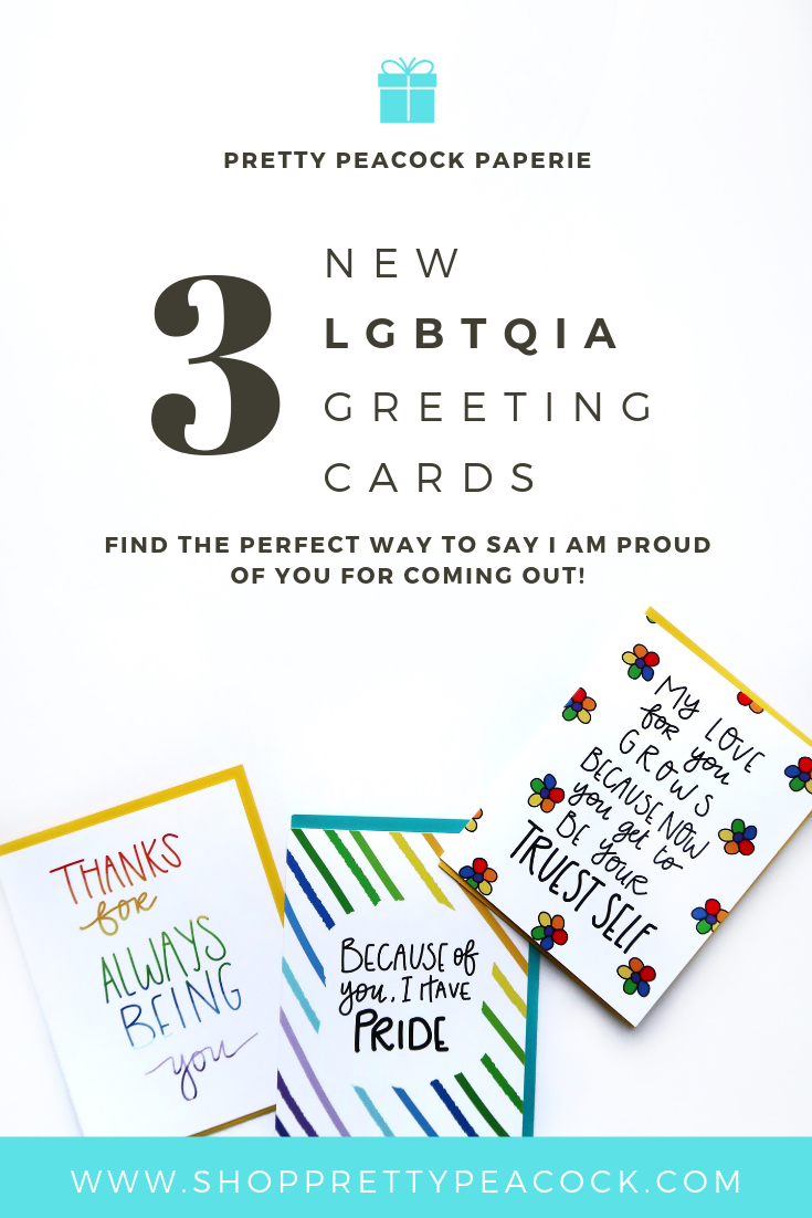 LGBTQIA Cards Have Landed!