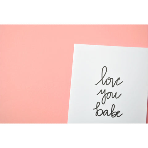 Love you Babe Greeting Card