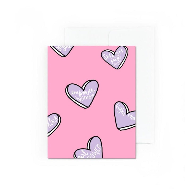 Girl Crush Greeting Card