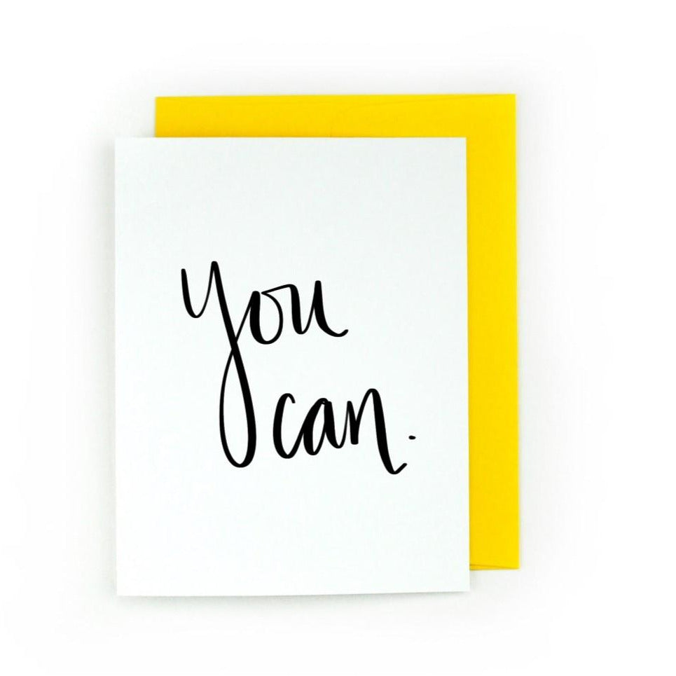You Can Greeting Card