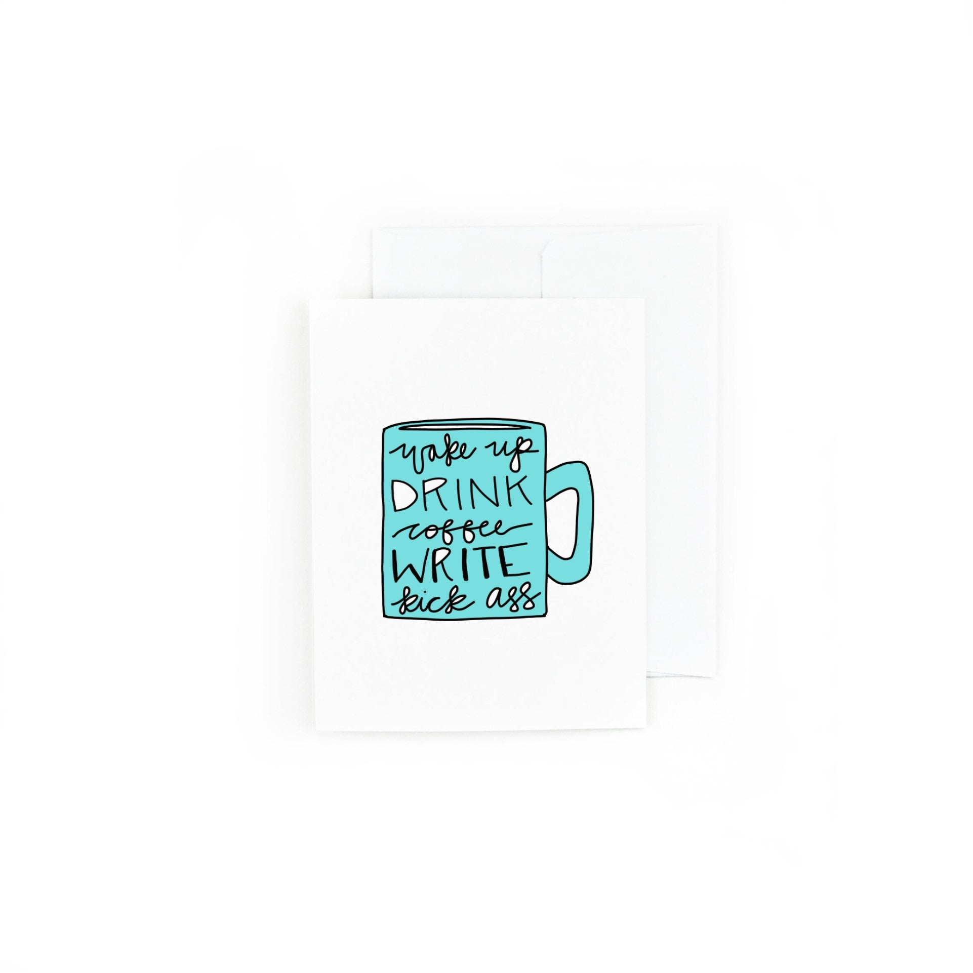 Writer's Mug Greeting Card