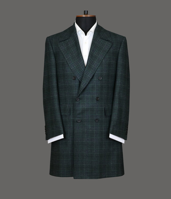 LUT120<br>Green Check Topcoat<br>0481
