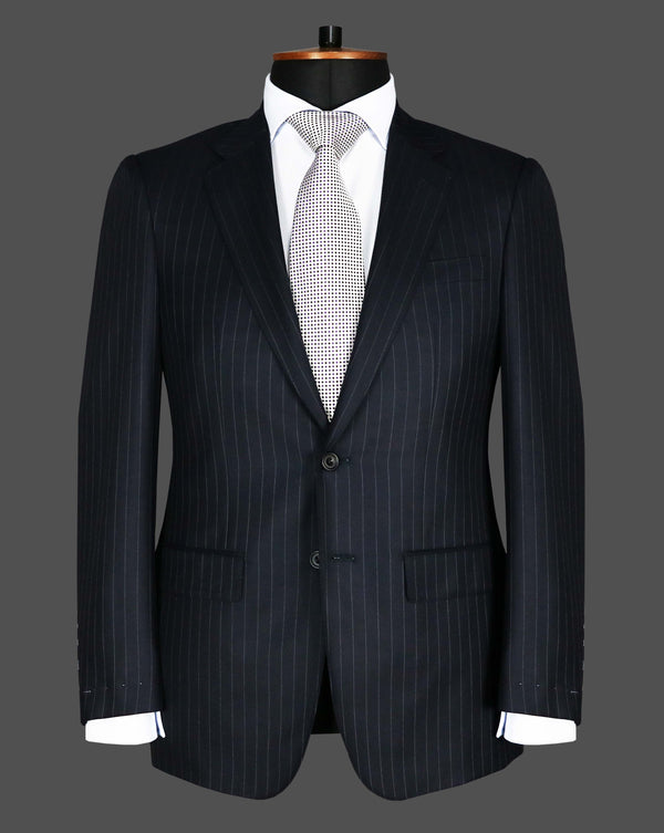 TLA026 - Navy Stripe Suit
