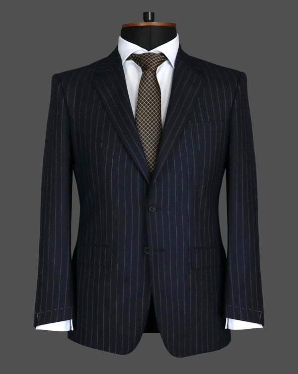 TLA037 - Navy Stripe Suit