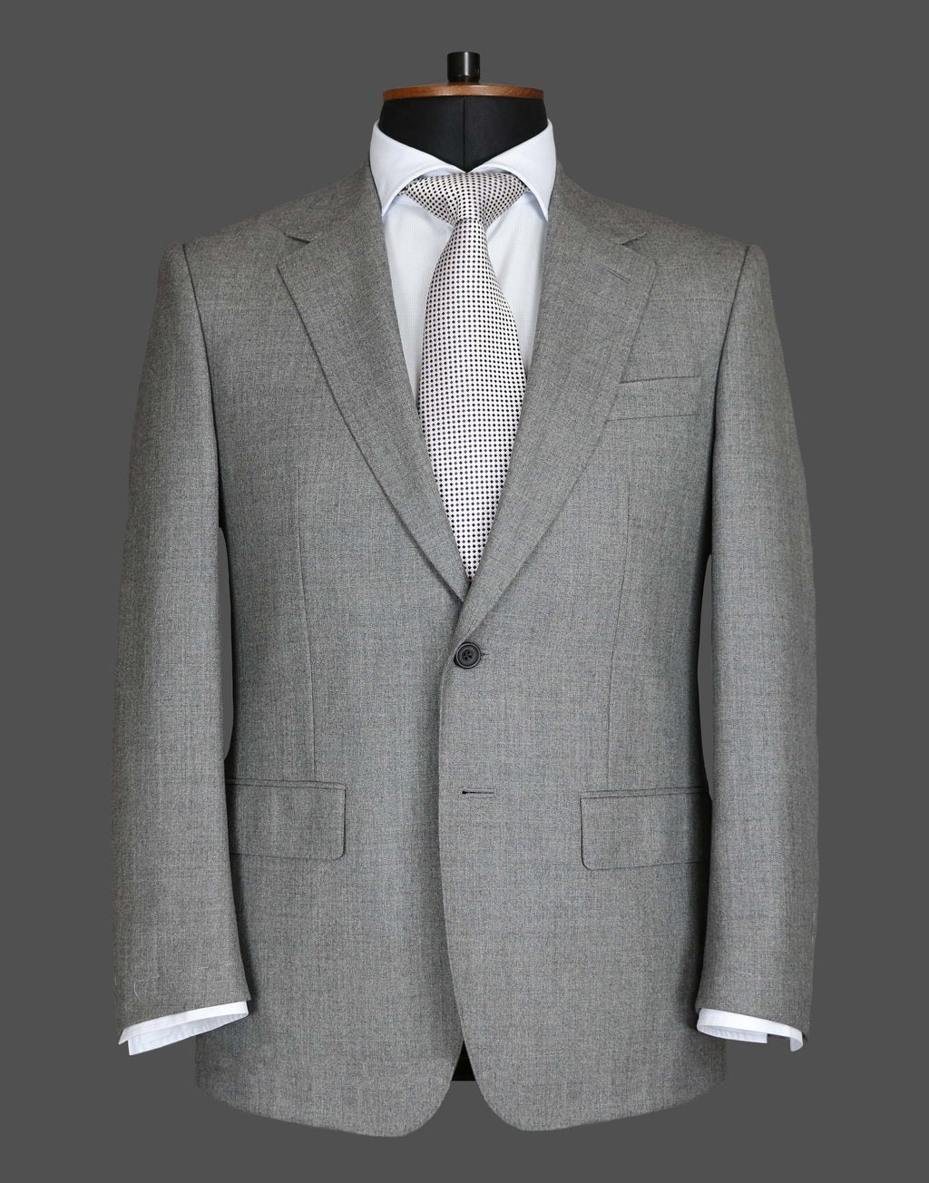 TLA018 - Plain Light Grey Suit