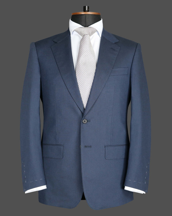 TLA016 - Navy Self Pattern Suit