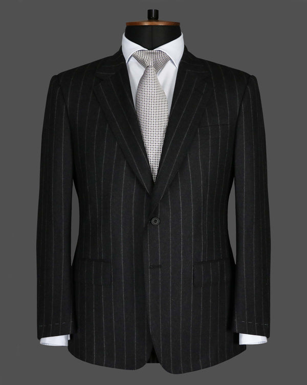 TLA004 - Grey Chalk Stripe Suit