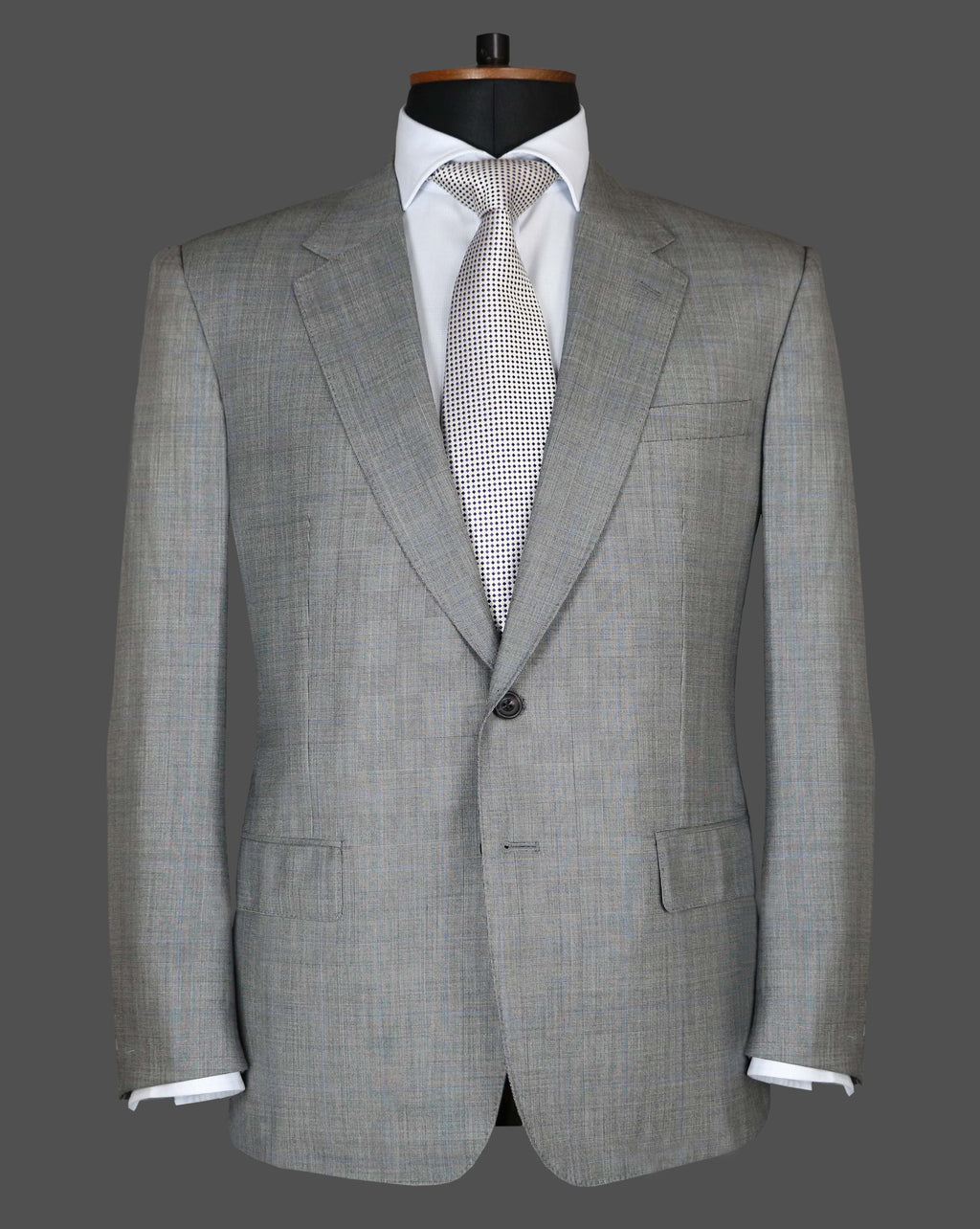 TLA049 - Grey Check Suit