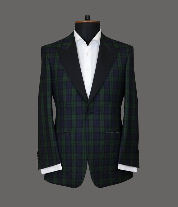 LUT066<br>Green Blue Check Jacket<br>4833
