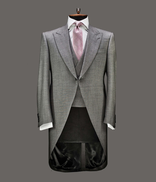 LUT102<br>3 Piece Grey Morning Suit<br>9363