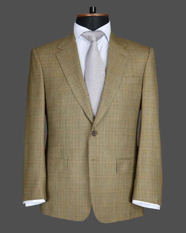 TLA044 - Brown Check Jacket