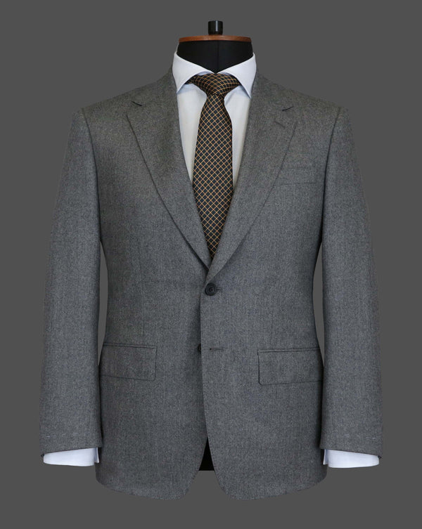 TLA010 - Plain Mid Grey Suit