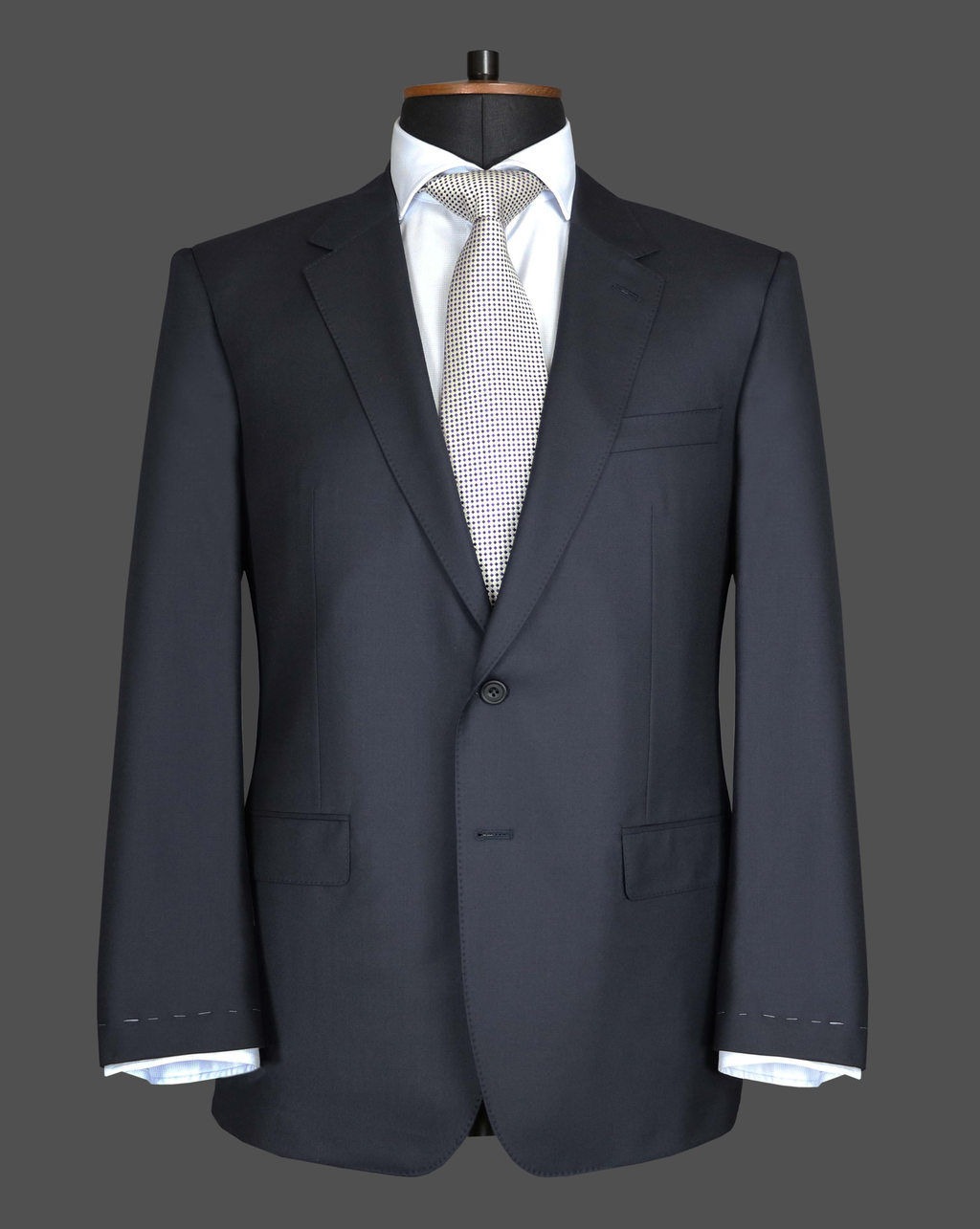 TLA014 - Plain Navy Suit
