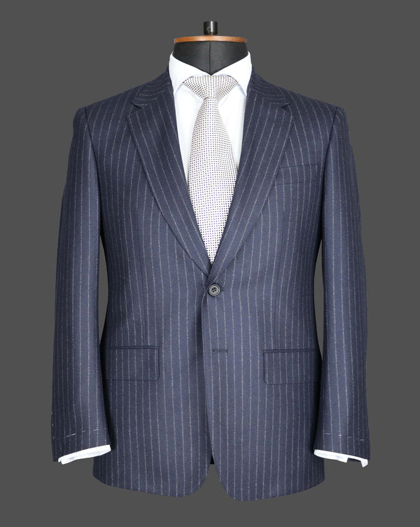 TLA036 - Navy Stripe Suit