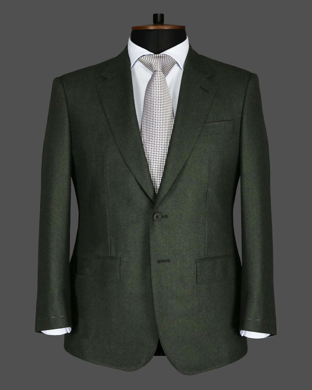 TLA039 - Plain Dark Green Suit