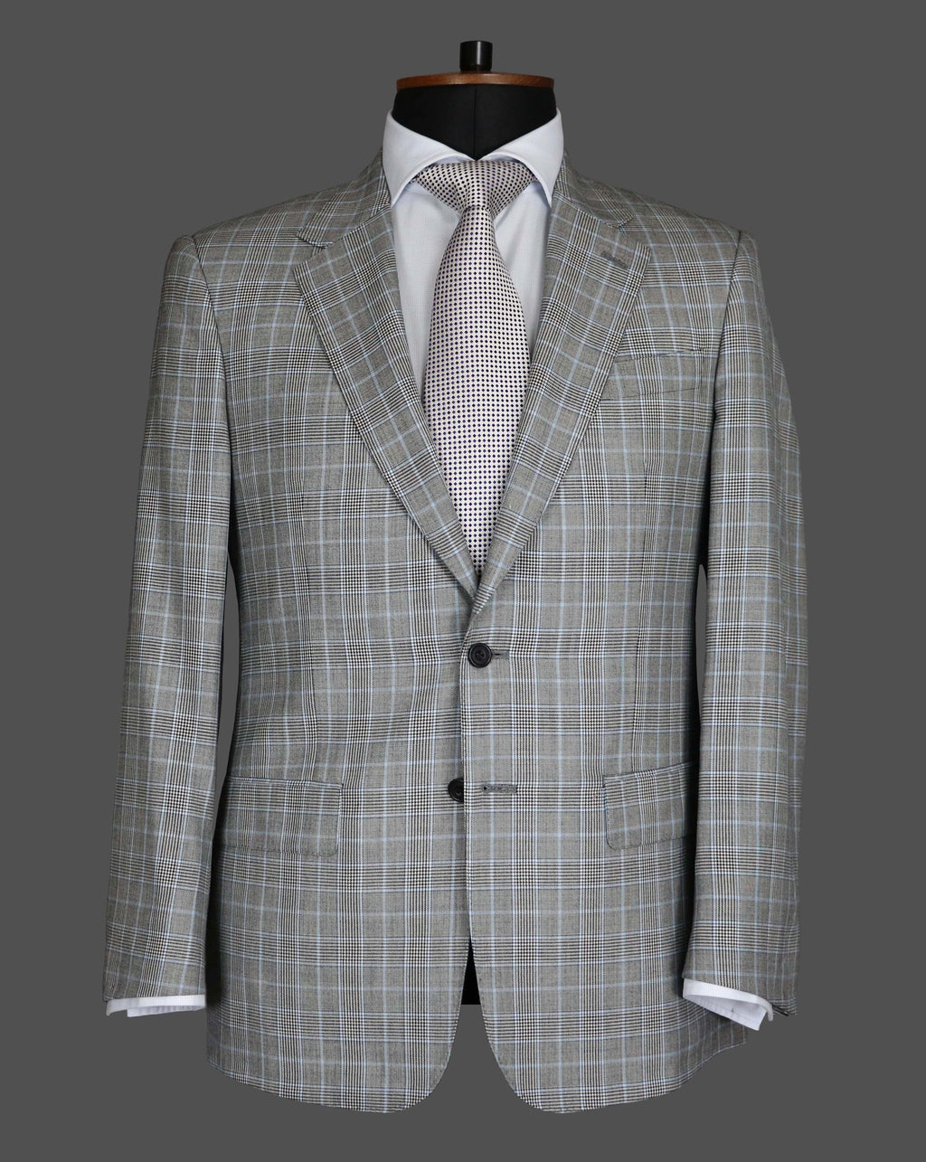 TLA040 - Grey / Pale Blue Suit