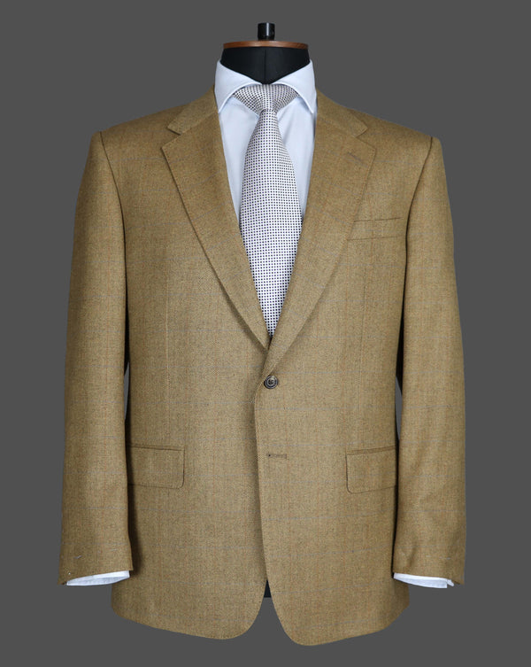 TLA051 - Tan Herringbone Jacket