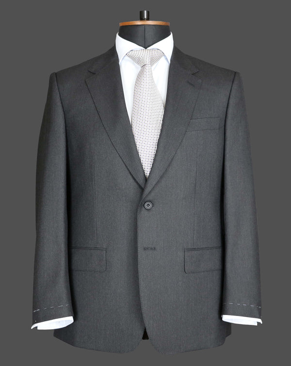 TLA063 - Plain Dark Grey Suit