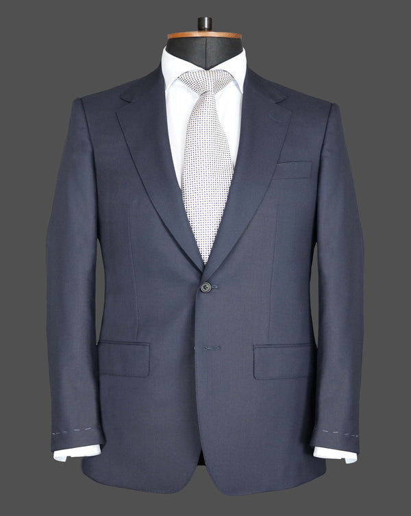 TLA067 - Plain Navy Suit
