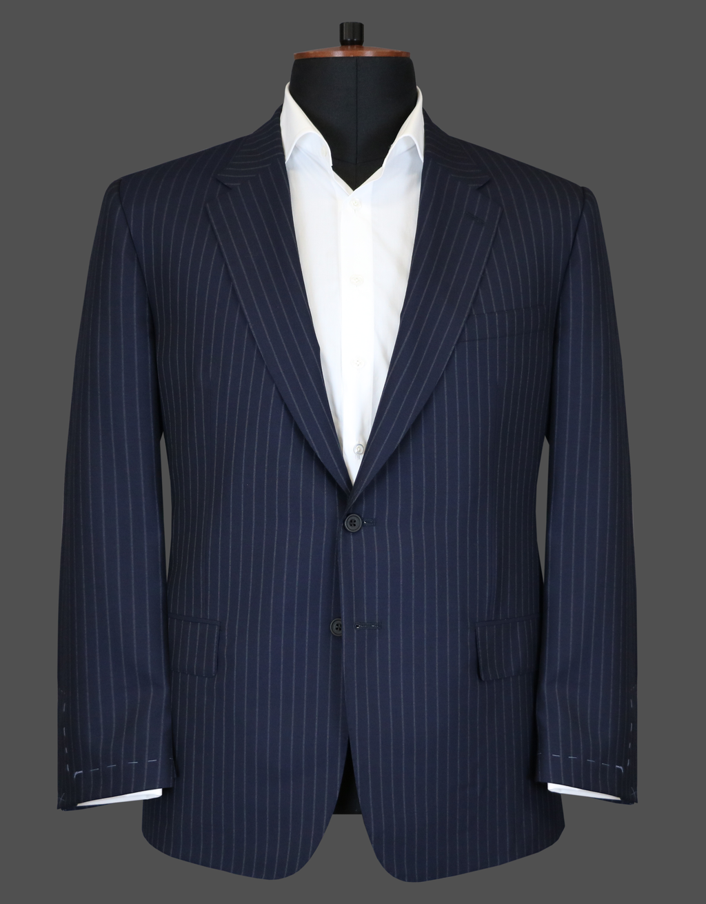 TLA048 - Navy Stripe Suit