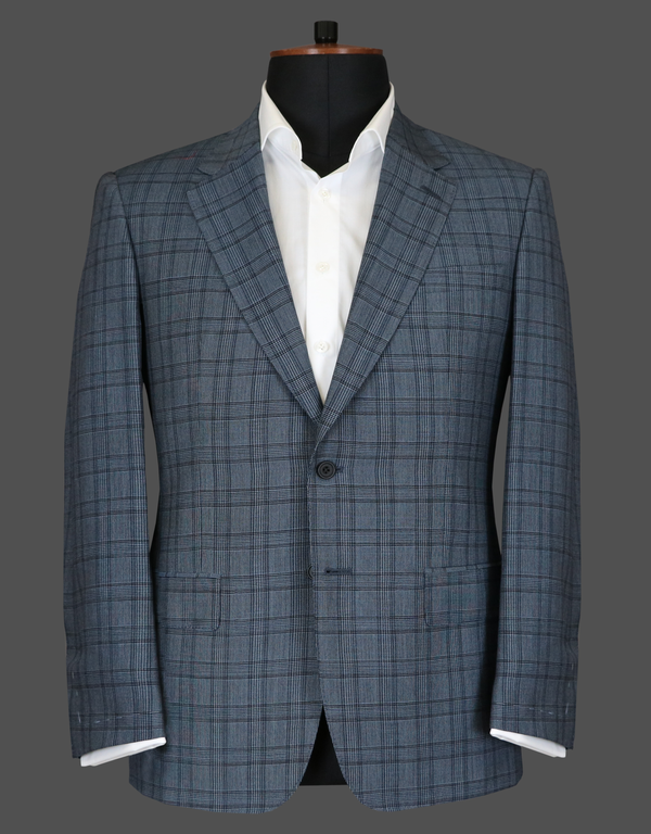 TLA054 - Blue Check Suit