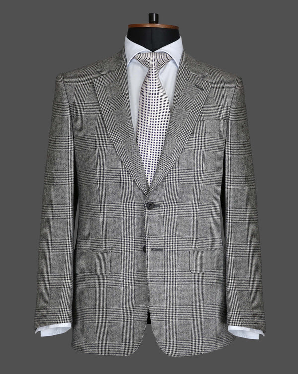 TLA046 - Grey Prince of Wales Check Suit