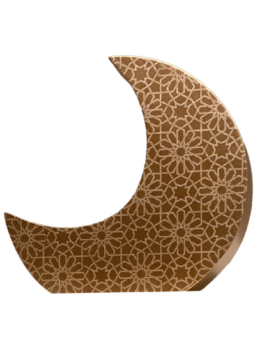 Crescent Moon Charity (Sadaqah) Coin Bank - Rose Gold