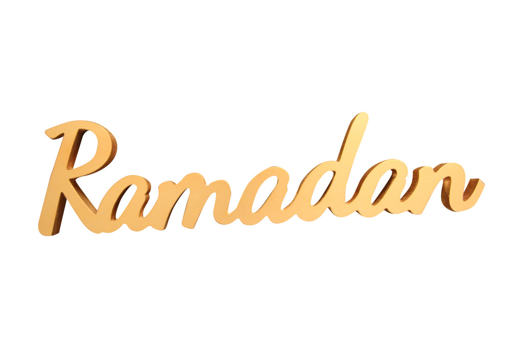 Perfect Imperfect Ramadan Decorative Sign - Perfect for DIY